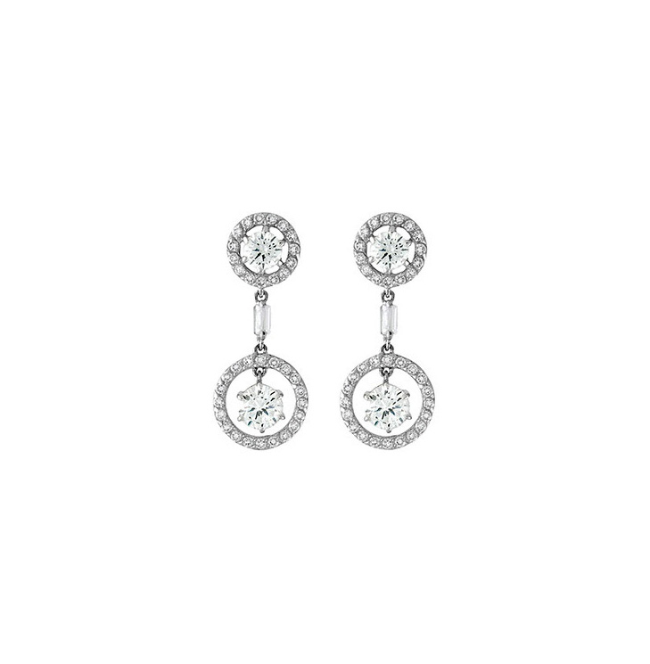 Argent Earrings